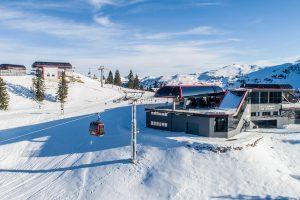 Die Bergstation ist integriert in jene des Ochsalmliftes © Michael Werlberger