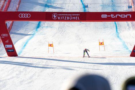 Alex Köll, der Osttiroler Schwede, landete beim Super-G nur auf Platz 39 © Skiing Penguin