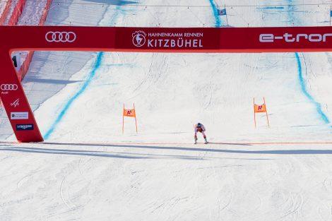 Matthias Mayer landete 0,16 Sekunden hinter Kjetil Jansrud auf Platz 2 © Skiing Penguin