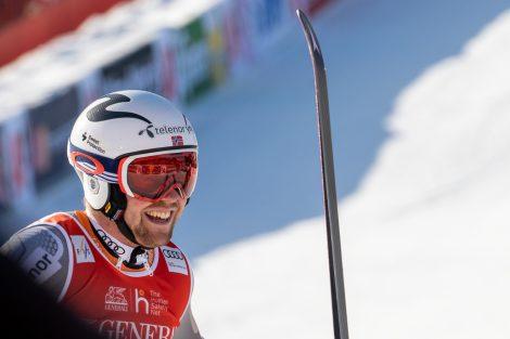 Aleksander Aamodt Kilde landete 0,16 Sekunden hinter Kjetil Jansrud auf Platz 2 © Skiing Penguin