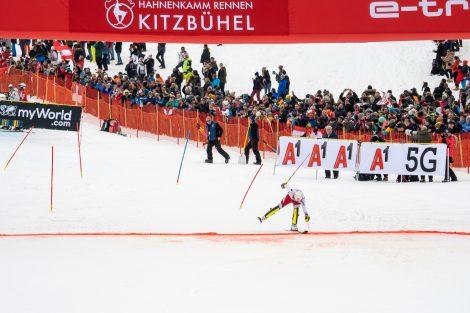 Der Kärntner sehr kurz vor dem Ziel © Skiing Penguin