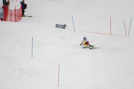 Adrian Pertl bei der Arbeit in Kitzbühel © Skiing Penguin