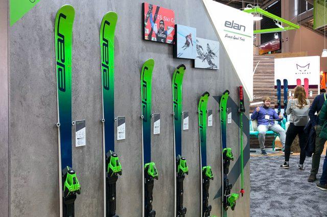 Die Weltcup-Ski der kommenden Saison von Elan © Skiing Penguin