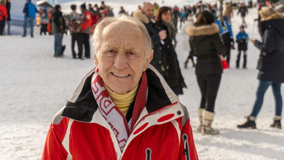 Anderl Molterer beim Hahnenkammrennen 2020 © Skiing Penguin