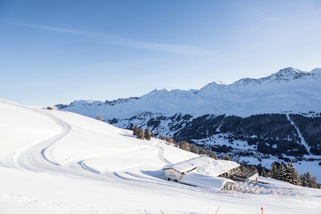 Ein Bild, das für den ganzen Alpenraum spricht: gute Bedingungen, aber kein Skibetrieb © Lenzerheide