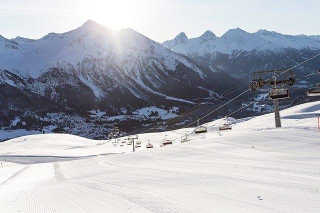 Das Saisonende in Graubünden kam am 13. März© Lenzerheide