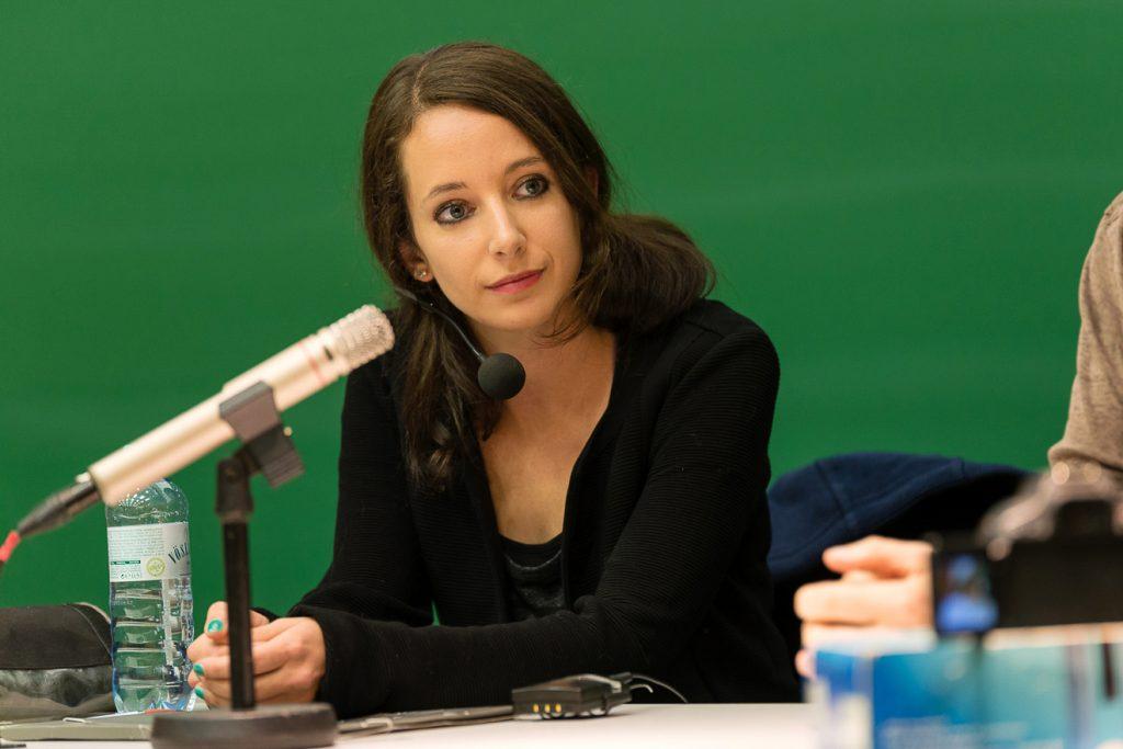 Johanna Pirker, Entwicklerin von Videogames und Informatikerin an der TU Graz ©Matthias Rauch mrfoto.at