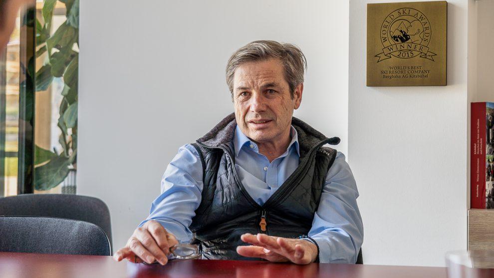 Anton Bodner beim Interview © Skiing Penguin