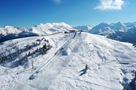 Dank Frau Holle startet KitzSki heuer auch mit Neuschnee in die Saison © Kitzski/Liner